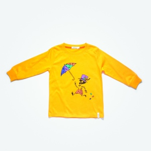 yellow skelleton umbrella sweater (2)
